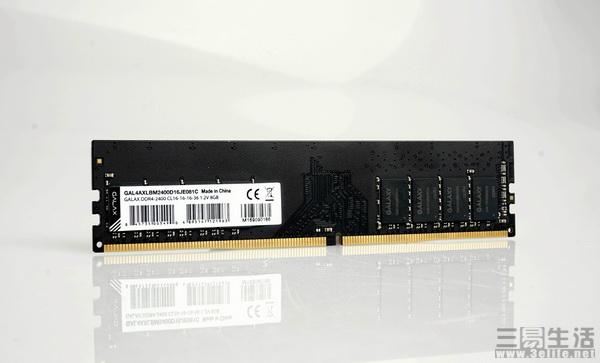 性价比首选 影驰DDR4-2400 4G内存天猫热卖289元